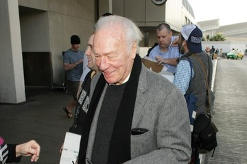 Christopher Plummer Christopher Plummer Arrives at LAX
