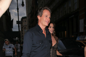 Cindy Crawford Rande Gerber And Cindy Crawford Spotted In New York City