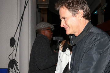 Cindy Crawford Cindy Crawford And Rande Gerber Are Seen Outside Craig's Restaurant
