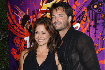 Brooke Burke David Charvet Cirque du Soleil 'Kooza' Opening Night