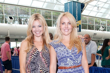 Claire Kramer Clair Kramer and Mercedes McNab at Comic Con