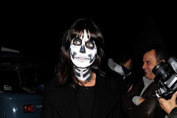 Claudia Winkleman Celebs Attend Jonathan Ross' Halloween Party