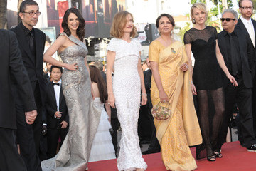 """Isabelle Huppert Robin Wright """"Coco"""" Premiere at Cannes"""