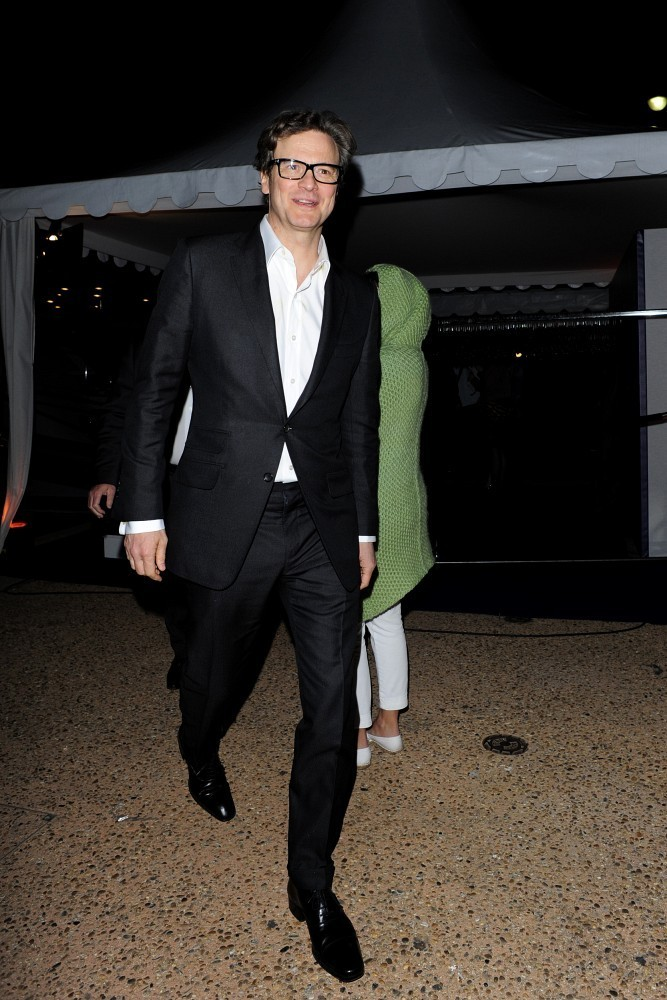 Colin Firth Spotted in...