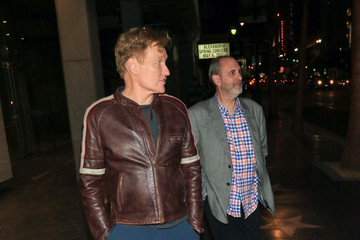 Conan O'Brien Conan O'Brien Enjoys Dinner at Katsuya Restaurant