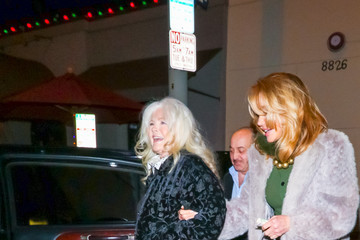Connie Stevens Connie Stevens Outside Craig's Restaurant In West Hollywood