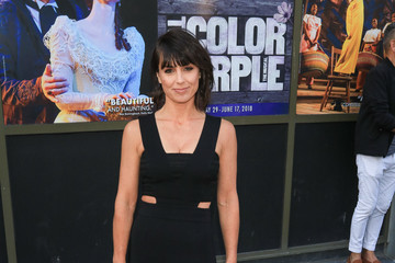 Constance Zimmer Celebrities Attend the Opening Night for 'Hamilton' Outside Pantages Theatre