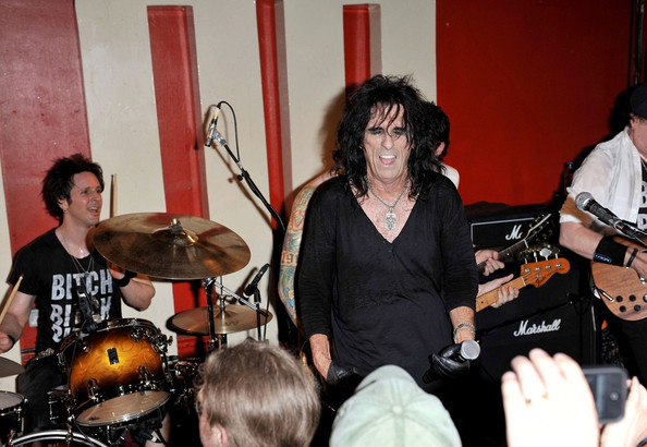 Alice Cooper and Johnny Depp Perform at the 100 Club