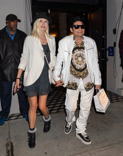 Corey Feldman And Courtney Anne Mitchell Dine At Craig's