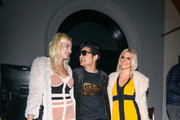 Corey Feldman and Courtney Anne Mitchell are seen in Los Angeles, California.