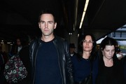 Courteney Cox and Johnny McDaid at LAX — Part 2