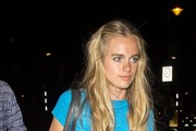 Cressida Bonas Leaves the Theater