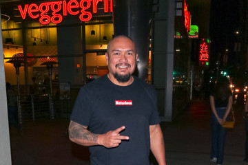 Crispin Alapag Crispin Alapag Outside ArcLight Theatre In Hollywood