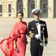 Crown Princess of Denmark Arrivals at the Swedish Royal wedding