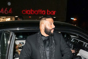 DJ Khaled is seen in Los Angeles, California.