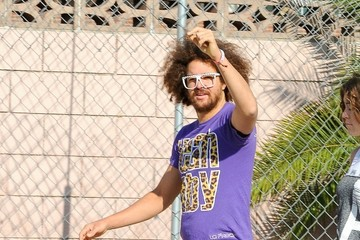 DJ Redfoo Redfoo Spotted in Hollywood