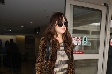 Dakota Johnson Dakota Johnson Spotted at LAX