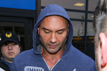 Dave Bautista Celebrities at the Salt Lake City Airport