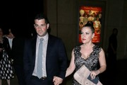 Dave Bugliari and Alyssa Milano Enjoy a Night Out