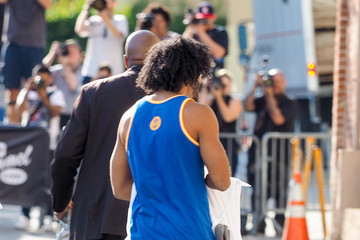 Daveed Diggs Sarah Jessica Parker Is Seen Arriving at 'Jimmy Kimmel Live'