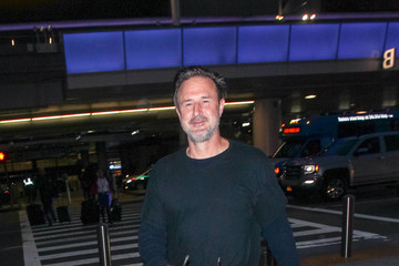 David Arquette David Arquette At LAX
