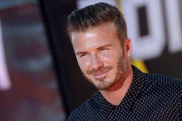 David Beckham Arrivals at the Nickelodeon's Kids' Choice Sports