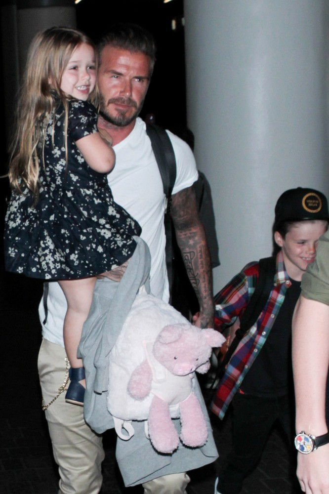 Image result for the beckham family  happy 2016
