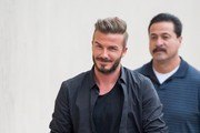 David Beckham Visits 'Jimmy Kimmel Live!'