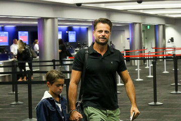 David Charvet David Charvet Is Seen at LAX