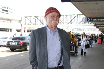 David Crosby David Crosby is seen at LAX