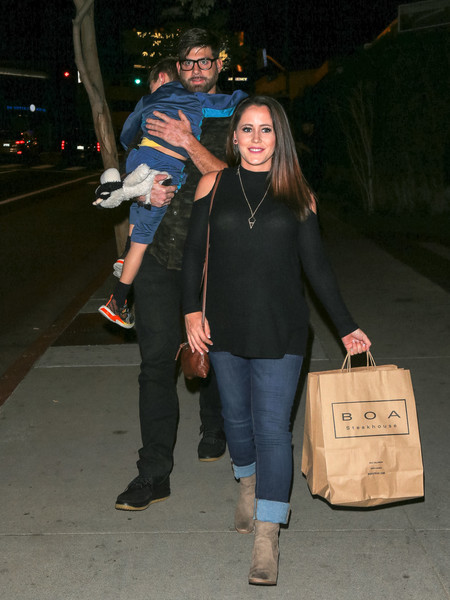 Jenelle Evans and David Eason Out Shopping