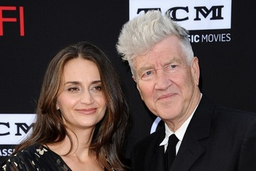 David Lynch Emily Stofle Arrivals at the AFI Life Achievement Gala