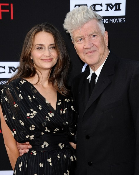 David Lynch with gracious, Wife Emily Stofle