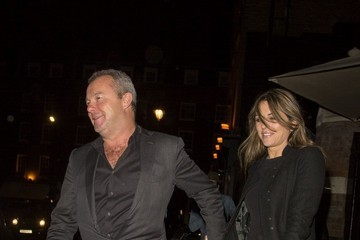 David Yarrow Liz Hurley and David Yarrow Enjoy a Night Out