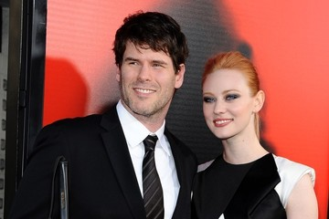 Deborah Ann Woll with cool, Boyfriend E.J. Scott