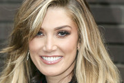 Delta Goodrem Visits the ITV Studios