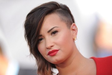 Demi Lovato Arrivals at the MTV Video Music Awards