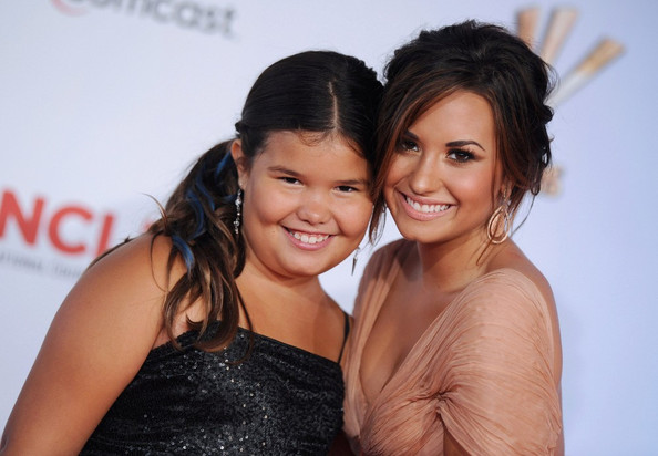 Demi Lovato and Madison De La Garza - 2011 NCLR ALMA Awards