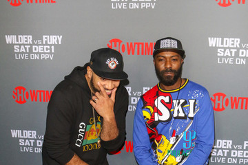 Desus Nice Tyson Fury At 'Fury vs. Wilder' Fight At The Staples Center
