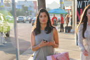 Diane Guerrero Goes for a Stroll