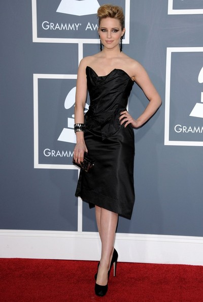 Dianna Agron The 53rd Annual GRAMMY Awards.Staples Center, Los Angeles, CA.February 13, 2011.
