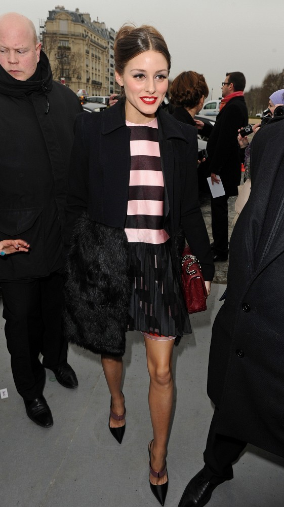 Olivia Palermo's Front-Row-Worthy Stripes