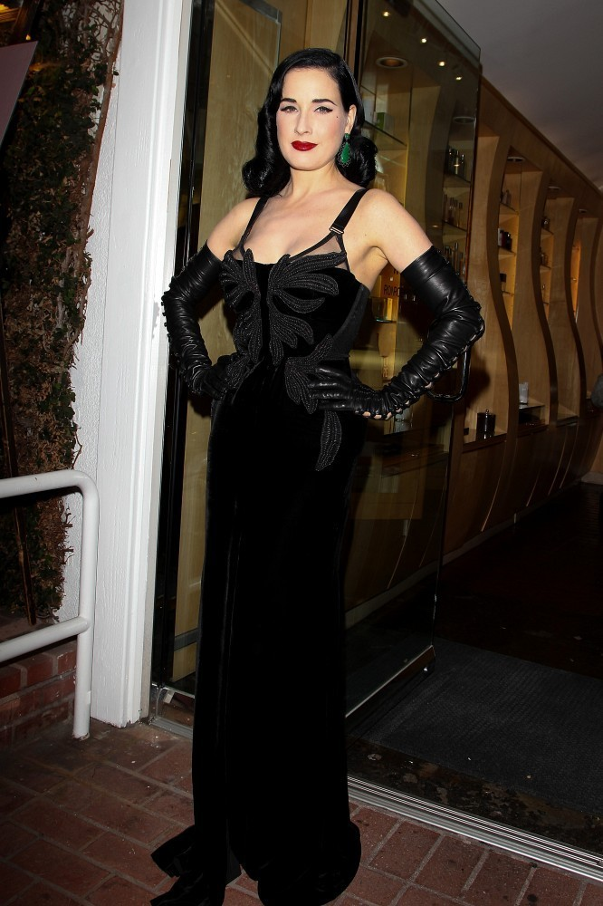 Dita Von Teese Launches a Fragrance