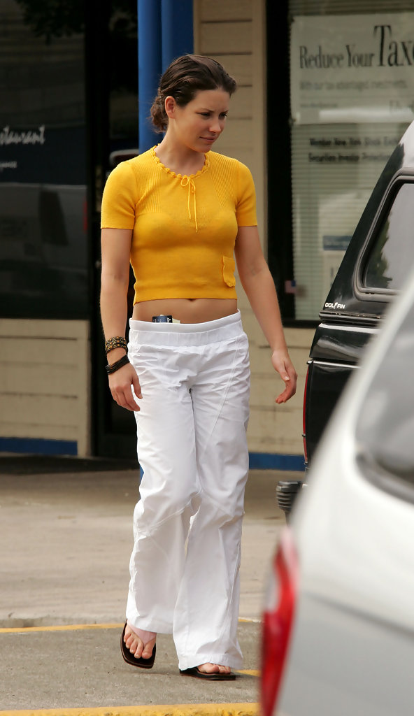 evangeline lilly photos photos dominic monaghan and