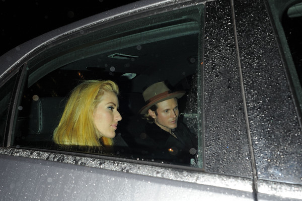 Ellie Goulding and Dougie Poynter Attend a Halloween Party
