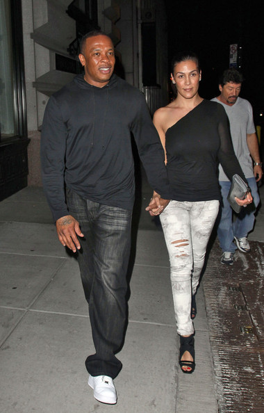 Dr. Dre with beautiful, Wife Nicole Young