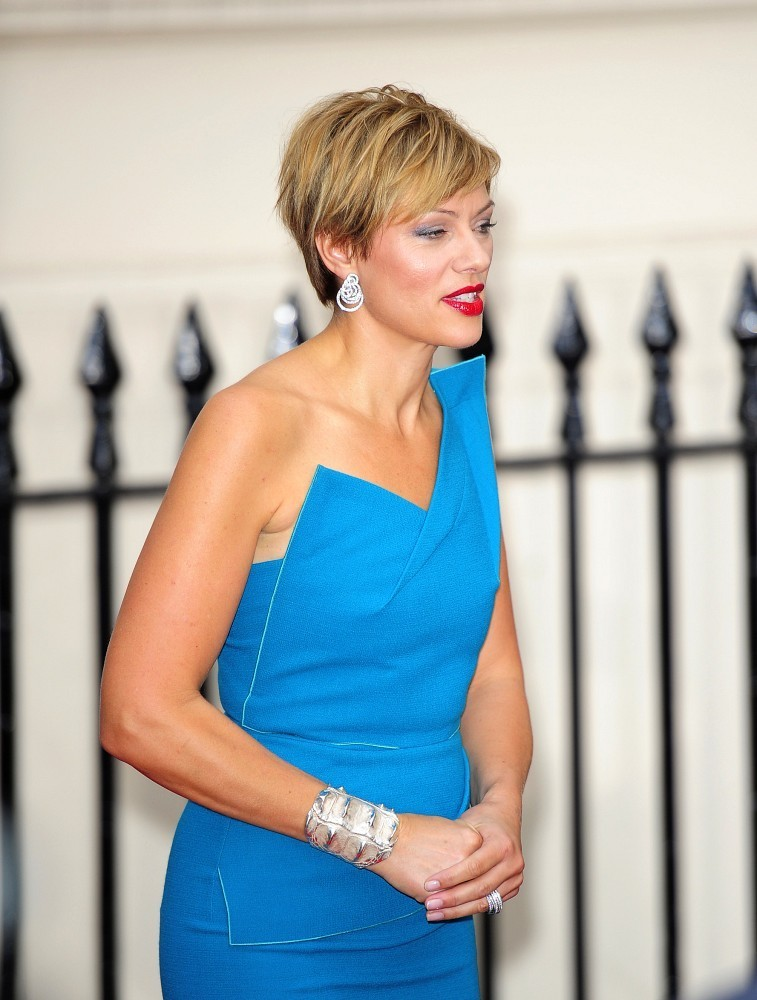 Kate Silverton Photos Photos Celebs Leave The Tusk Trust