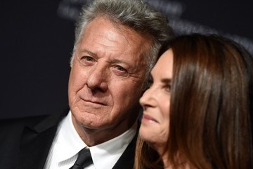 Dustin Hoffman Lisa Hoffman BAFTA Los Angeles Jaguar Britannia Awards