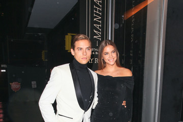 Dylan Sprouse Barbara Palvin Barbara Palvin Attends Vanity Fair's Best-Dressed 2018