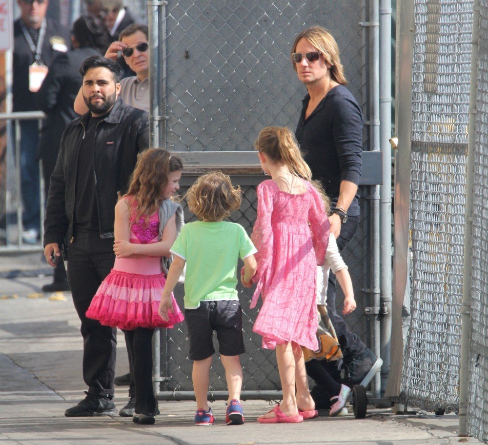 Keith Urban In Nicole Kidman And Keith Urban Visit 39 Jimmy
